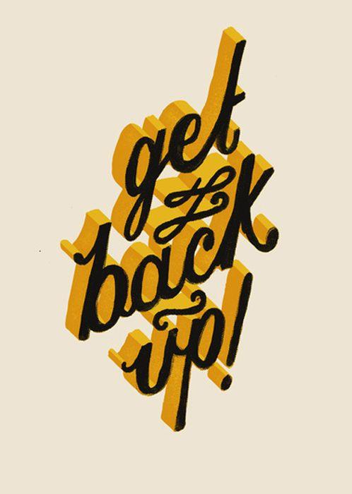 Landon Sheely// get back up