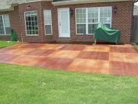 painted concrete patio - Google Search   Painted Concrete ...