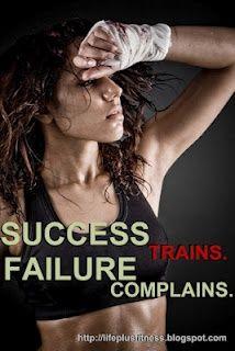 Stop complaining. Start training.