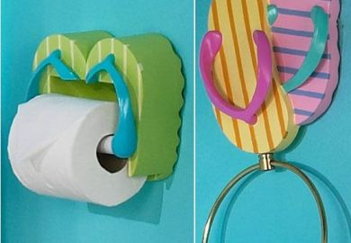 Flip Flop Bathroom Accessories