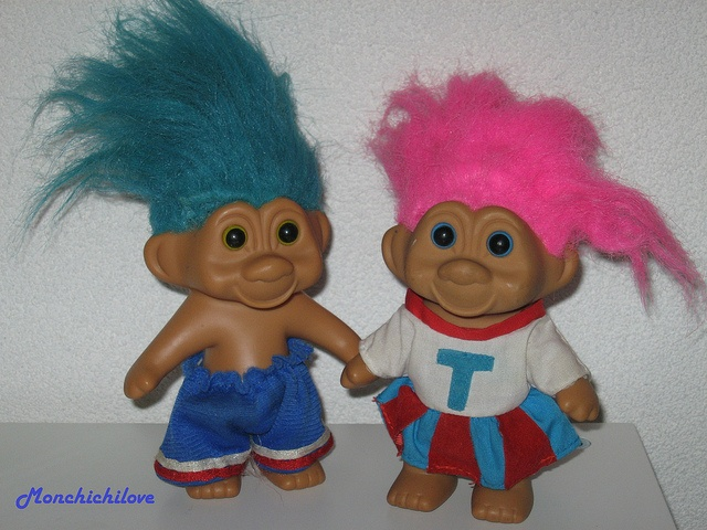 Image result for 2 troll dolls