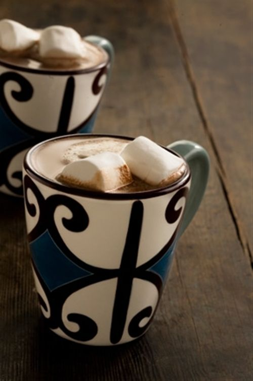 Dreamy Creamy Hot Chocolate. Its good! I just had it...in august...lol