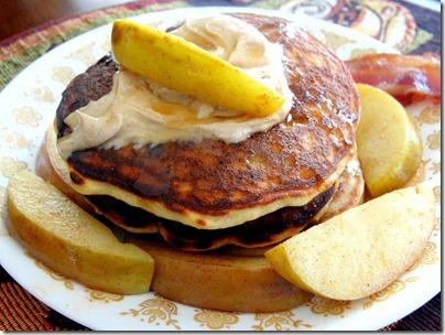 Gluten Free Protein Banana Pancakes