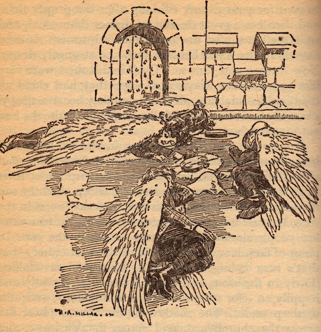 H R Millar illustration from Five Children and It by E Nesbit