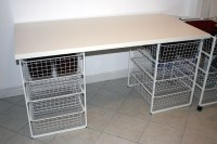IKEA hack craft table