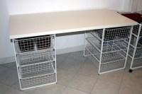 IKEA hack craft table | Ikea | Pinterest