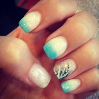 My prom acrylic nails :) #prom | Nail Designs | Pinterest