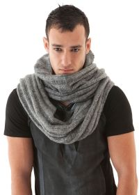 Mens Scarf SOFT KNIT HOODED FunkDPunk | My styles | Pinterest