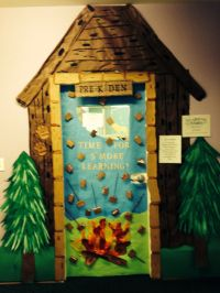 Camping Theme Door | Bulletin Boards and other ideas ...