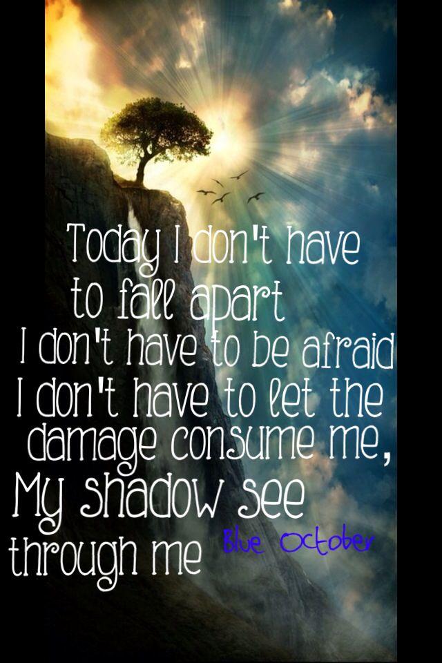 Blue October Quotes QuotesGram