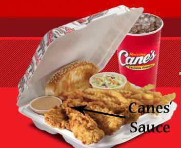 Raising Cane's Secret Sauce!