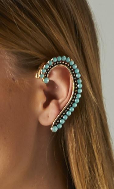#mint #crystal #earcuffs #publik #shoppublik  www.shoppublik.com