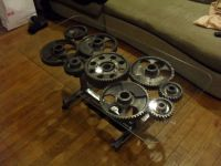 Steampunk Gear Coffee Table