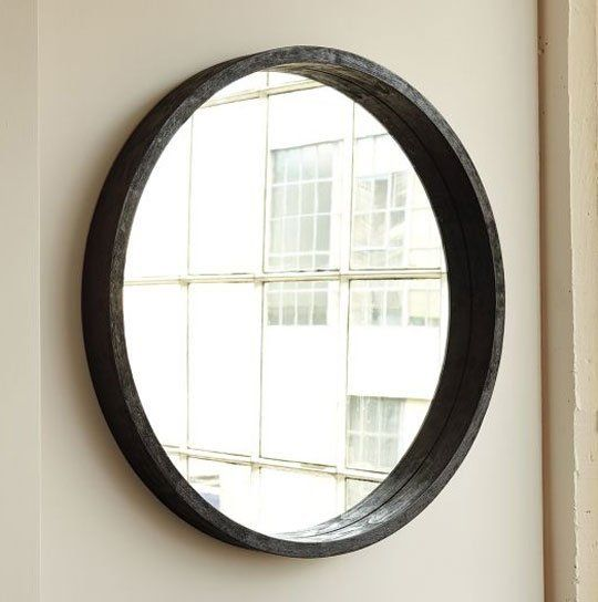 Current Obsession: Round Bathroom Vanity Mirrors