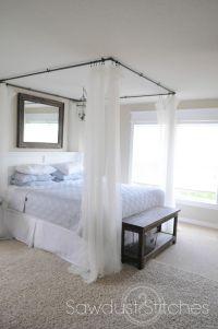 Bed canopy DIY | Craft Ideas & DIY ! (: | Pinterest