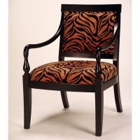 Animal Print Accent Chair | decor lust | Pinterest
