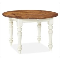 Dining Table: Pottery Barn Dining Table Round