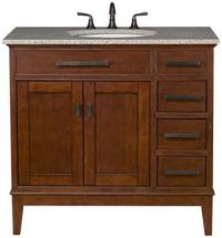 Bathroom Vanity Mission Style | For the Home | Pinterest