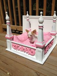 Posh Puppy Princess Dog Bed diy | For Lilly Belle | Pinterest