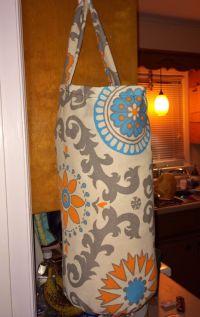 DIY grocery bag holder   DIY Adventures   Pinterest