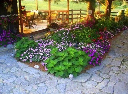 Triyae Com = Small Backyard Flower Garden Design Various Design