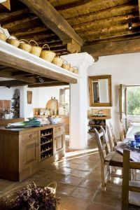 rustic farmhouse kitchen | Home Inspiration | Pinterest