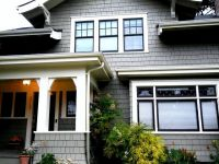 black trim on windows | House colors | Pinterest