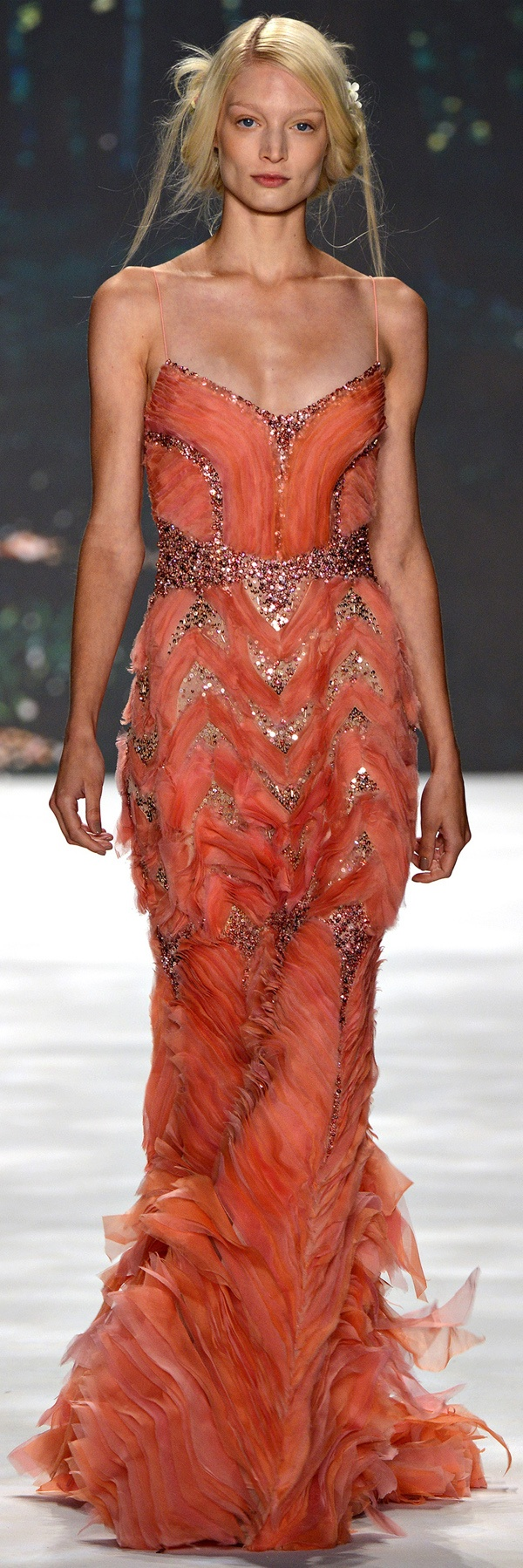 #Badgley Mischka Spring Summer 2013 Ready-To-Wear collection