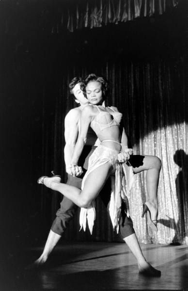 Eartha Kitt And Patrice Munsel  Date taken:	1955  Photographer:	George Silk
