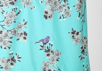 Bird Sheer Curtains