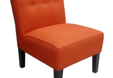 Orange Accent Chairs
