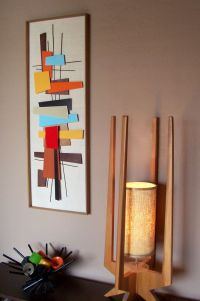 NEW RELEASE - Mid Century Modern Art Abstract Wall ...