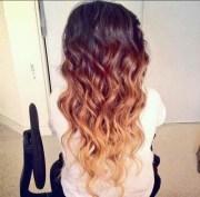 tricolor ombre haircolor