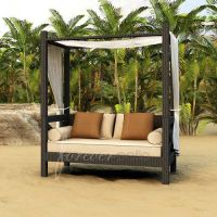 Forever Patio Hampton Daybed with Cushions: Patio ...