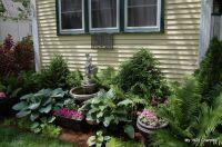 our front yard cottage garden   gardening   Pinterest