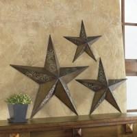 Rustic Stars Wall Art