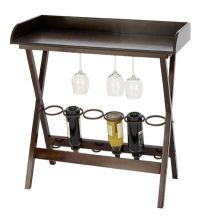 Small Wine Rack Table Bar | home | Pinterest