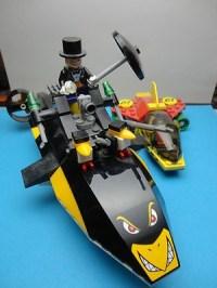Lego Batman Robin's Scuba Jet attack of the Penguin toy ...