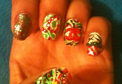 Nail Art Designs Christmas