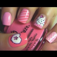 Cute cupcake nail design instagram | Nailed It!! | Pinterest