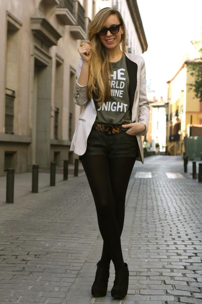 Shorts jeans streets city fashion