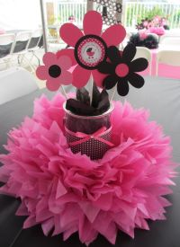 Pink & Black Baby Shower | Inspiring Ideas | Pinterest