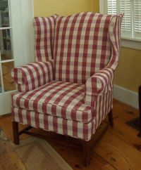 Buffalo Check Chair | myideasbedroom.com