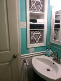 My Tiffany Blue bathroom :) | Home | Pinterest