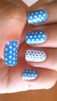 Cute Polka Dot Nail Designs | Nail Designs, Hair Styles ...