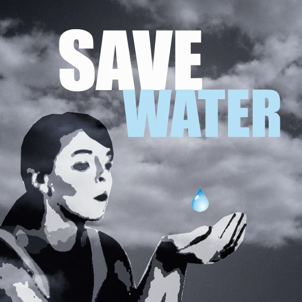 save water slogan poster | Green posters | Pinterest