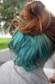 hair color dyed