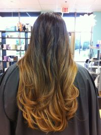 Ombre hair color by Laurie Linney EA Wells Hair Design ...