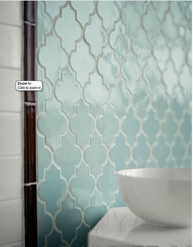 Love this morrocan tile