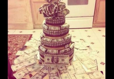 Money Cake Ideas